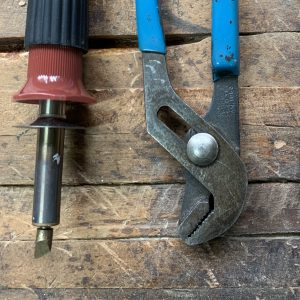 fix your wood burning tool when it gets cross threaded or difficult to turn